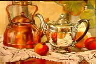 Anne Bodi Art Collection of Fine Art Paintings by Patrice Stephens-Bourgeault