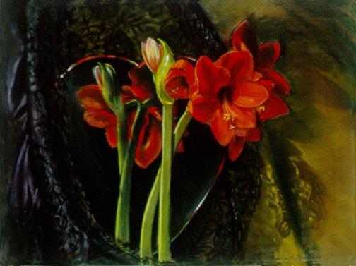"F10403: ""Olé"" - Beautiful still life paintings of freelance scientific illustrator and plein-air artist Patrice Stephens-Bourgeault"